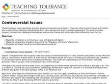 Controversial Issues Lesson Plan