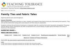 Family Ties and Fabric Tales Lesson Plan