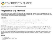 Progressive City Planners Lesson Plan