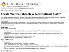 Should Your Hairstyle Be A Constitutional Right? Lesson Plan