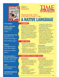 A Native Language Lesson Plan