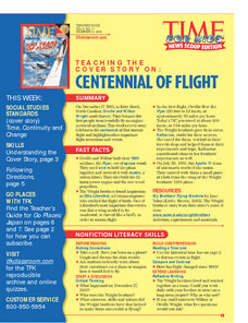 Centennial of Flight Lesson Plan