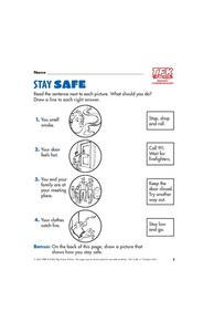 Stay Safe Lesson Plan