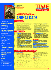 Animal Dads Lesson Plan