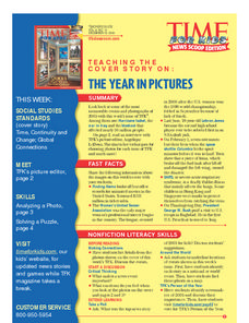 The Year in Pictures Lesson Plan