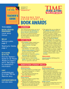Book Awards Lesson Plan