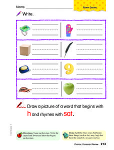 Identifying Items Worksheet