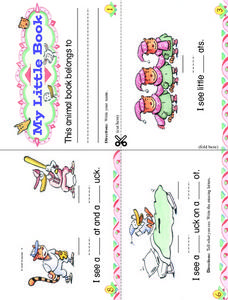 My Little Animal Book Worksheet