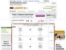 Count Together Worksheet