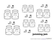 Jamming Jam Worksheet