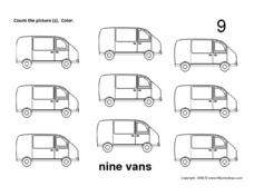 Nine Vans Worksheet