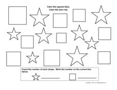 Multi-Shape Activity Worksheet