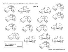 Seventeen Cars Worksheet