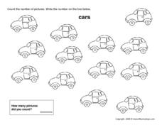 Thirteen Cars Worksheet