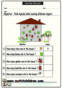 Counting Exercise Worksheet