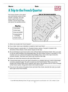 A Trip to the French Quarter Lesson Plan