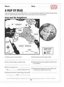 Map of Iraq Lesson Plan