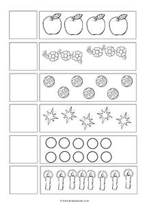 Counting Fish Worksheet