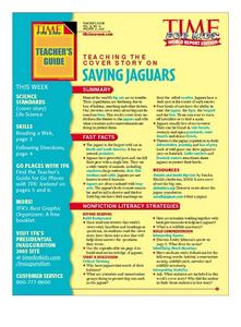 Saving Jaguars Lesson Plan