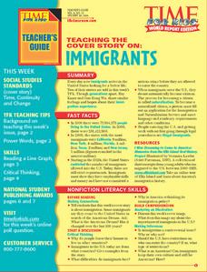 Immigrants Lesson Plan
