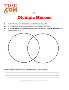 Olympic Heroes Lesson Plan
