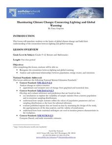 Illuminating Climate Change:  Connecting Lighting and Global Warming Lesson Plan