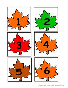 Counting leaves Worksheet