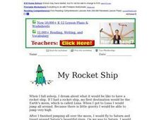 My Rocket Ship Worksheet