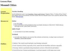 Mound Cities Lesson Plan