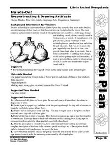 Life in Ancient Mesopotamia Lesson Plan