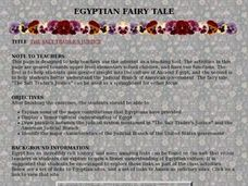 Egyptian Fairy Tale Lesson Plan