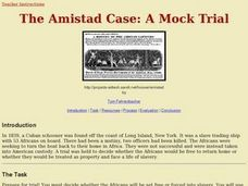 The Amistad Case: A Mock Trial Lesson Plan