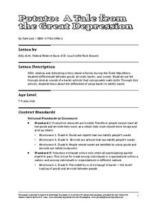 Potato: A Tale from the Great Depression Lesson Plan