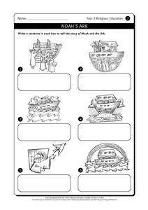 Noah Bible Worksheet For First Grade. Noah. Best Free