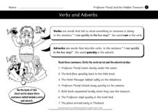 Professor Flumf and the Hidden Treasure Worksheet