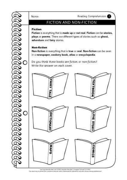 Nonfiction reading comprehension worksheets 2nd grade