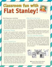 Classroom Fun with Flat Stanley! Activities & Project