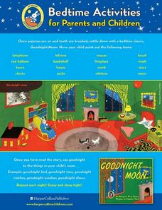 Goodnight Moon: Bedtime Activities for Parents and Children Lesson Plan