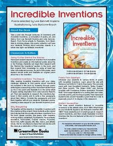 Incredible Inventions Lesson Plan