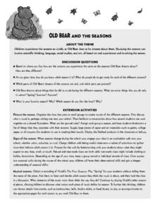 Old Bear Lesson Plan