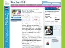 Snow Is Falling Lesson Plan