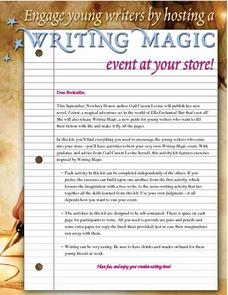 Writing Magic Lesson Plan