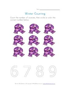 Winter Counting 2 Worksheet