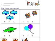 Counting Objects Worksheet