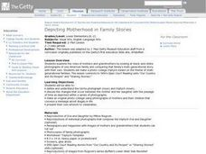 Depicting Motherhood in Family Stories Lesson Plan