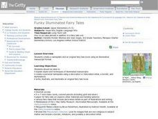 Funky Illuminated Fairy Tales Lesson Plan