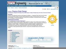 Passive Solar Design Lesson Plan