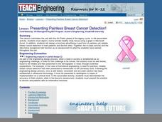 Presenting Painless Breast Cancer Detection! Lesson Plan