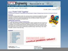 Puttin' It All Together Lesson Plan