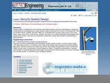 Security System Design Lesson Plan